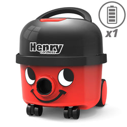 Numatic HVB160 Henry Cordless With 1 Battery -  Cylinder Vacuum Cleaner - Numatic