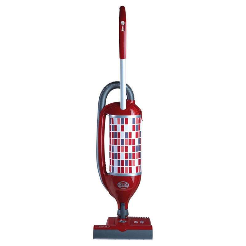Sebo Felix Rosso ePower upright vacuum cleaner