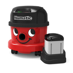 Numatic NBV240 Professional Vacuum Cleaner With 2 Batteries -  Cylinder Vacuum Cleaner - Numatic