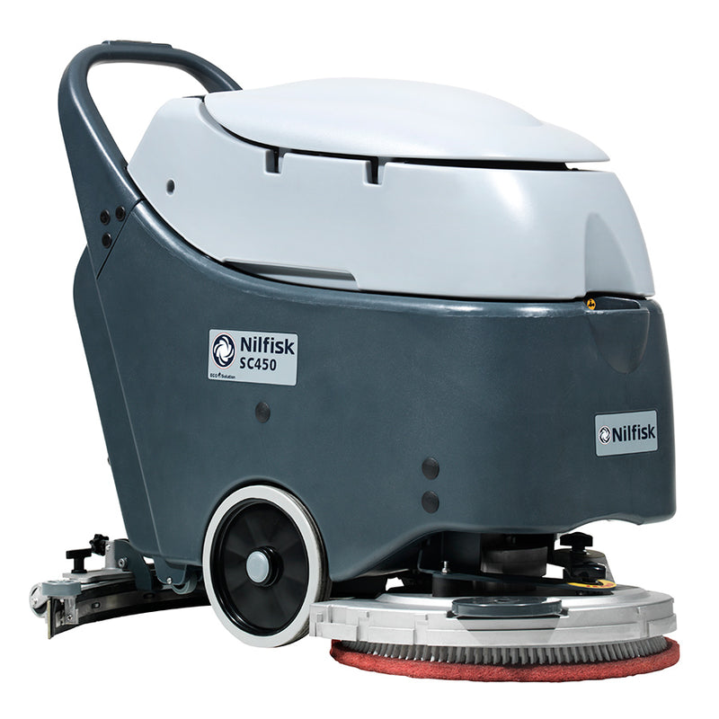 Nilfisk Sc450 53 B Walk Behind Battery Scrubber Dryer