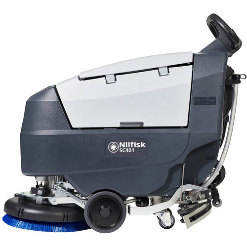 Nilfisk SC401 43B Battery Scrubber Dryer -  Walk behind scrubber dryer - Nilfisk Alto