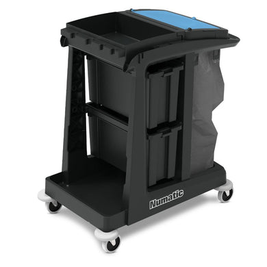 Numatic ECO-Matic EM2 Trolley - Slide Away Storage -  Mopping Systems and Trolleys - Numatic