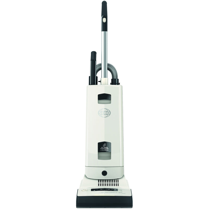 Sebo Automatic X7 Epower - White upright vacuum cleaner