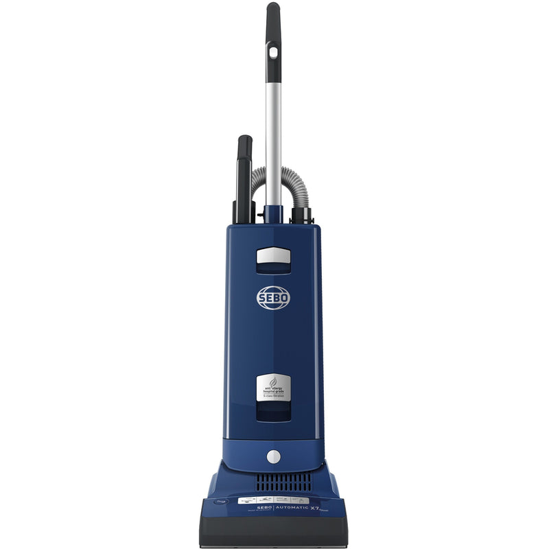 Sebo Automatic X7 Extra Epower - Blue upright vacuum cleaner