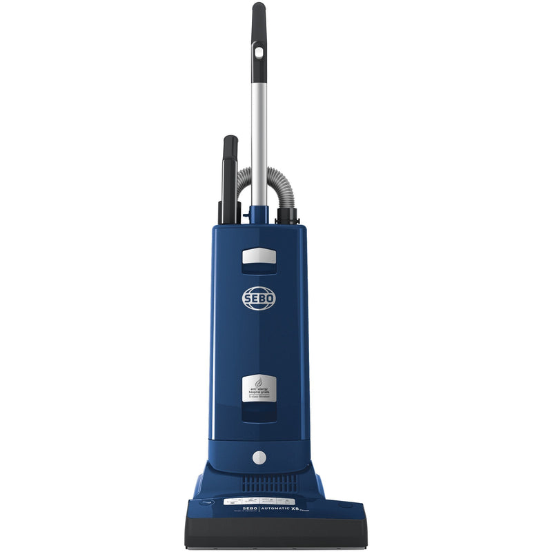 Sebo Automatic X8 Widetrack Epower - Blue upright vacuum cleaner
