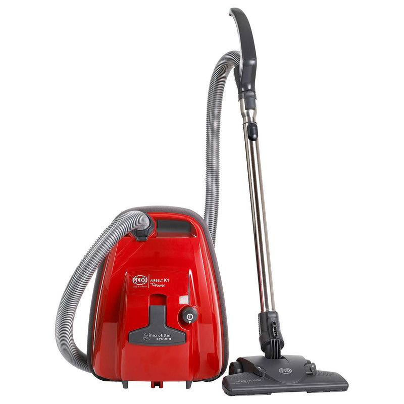Sebo Airblet K1 ePower cylinder vacuum cleaner - red