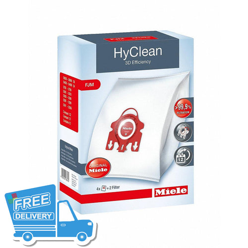 Miele FJM 3D Efficiency HyClean Dustbags -  Dustbags - Miele