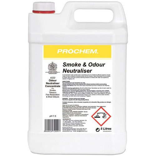Prochem Smoke and Odour Neutraliser 5ltr -  Chemical - Prochem