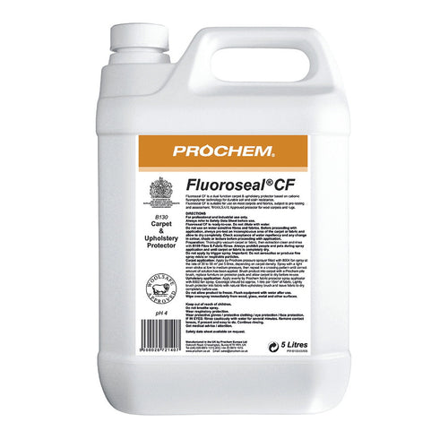 Prochem Fluoroseal CF - Professional quality, odourless fluoropolymer carpet protector -  Chemical - Prochem
