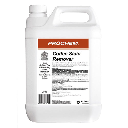 Prochem Coffee Stain Remover - Ready-to-use Acidic Spotter -  Chemical - Prochem