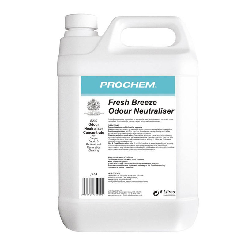Prochem Fresh Breeze Odour Neutraliser 5 Litre