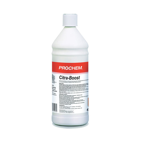 Prochem Citra Boost - Professional Strength Solvent Based Cleaning Additive -  Chemical - Prochem