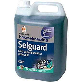 Selden Selguard- Hard Surface Sanitiser -  Janitorial Products - Selden