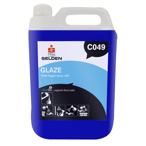 Selden Glaze- Glass and VDU Cleaner -  Janitorial Products - Selden
