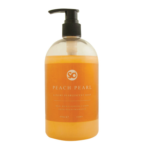 Selden - Peach Pearl Hand Soap 450mls Pump