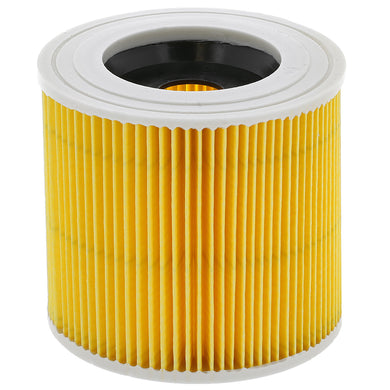 Cartridge filter to fit Karcher WD2 and WD3 machines - Fits all WD 2 and WD 3P -  Vacuum Cleaner Filter - Candor Services