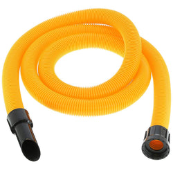 38mm High visibility yellow hose to fit Numatic machines - 3 meters long -  Vacuum Cleaner Hose - Candor Services