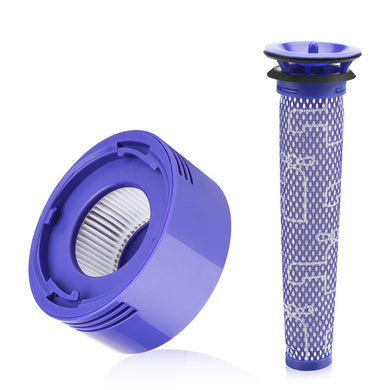 Dyson V8 / SV10 replacement filter kit - Washable pre filter and HEPA post filter