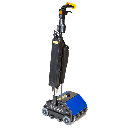 Duplex 280 Battery Floor Cleaning Machine - 280mm Cleaning Path -  Walk behind scrubber dryer - Duplex