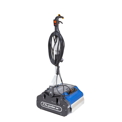 Duplex 340 Steam Floor Cleaning Machine - 240v - 340mm Cleaning Path With Steam -  Walk behind scrubber dryer - Duplex