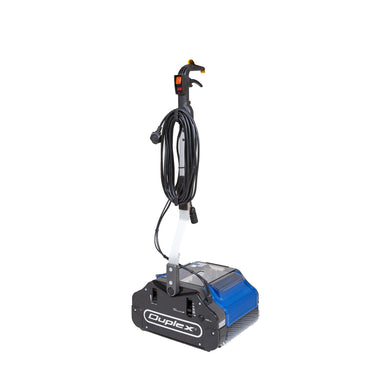 Duplex 340 Floor Cleaning Machine - 240v - 340mm Cleaning Path -  Walk behind scrubber dryer - Duplex