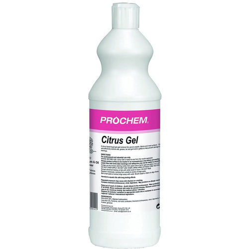 Prochem Citrus Gel - Citrus Solvent And Detergent Based Liquid -  Chemical - Prochem