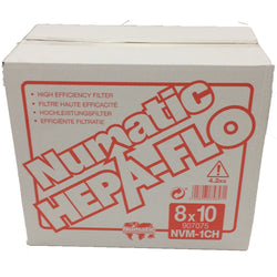 Genuine Henry NVM-1CH Dust bags - Box of 8 packs of 10 - 80 bags Fits all 16-300 Tubs -  Dustbags - Numatic