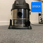 WL092 15l Wet And Dry Vacuum Cleaner 240v 1200w Stainless Steel - STOCK CLEARANCE