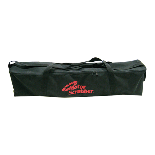 MotorScrubber large black carry bag with internal storage compartments -  Portable Scrubber Storage Bag - Motorscrubber