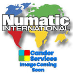 Numatic Cvc Cover (1 Switch) Printed Numatic World Logo (White)