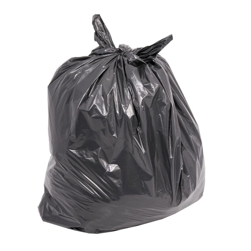 Candor Medium Duty 10kg rated Refuse Sacks Black Bags