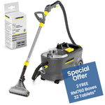 Karcher Puzzi 10/1 - Spray Exctraction Carpet And Upholstery Deep Cleaner - 240v