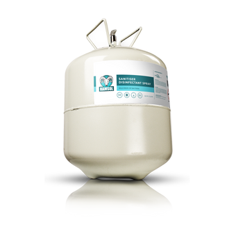 Ramsol Sanitiser Disinfectant Replacement Canister 22litres - Contains Active Biocides For Use On Hard And Soft Surfaces - Effective MRSA, SARS