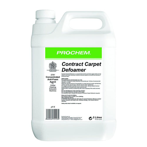 Prochem Contract Carpet Defoamer - Economical Anti-Foam Agent -  Chemical - Prochem