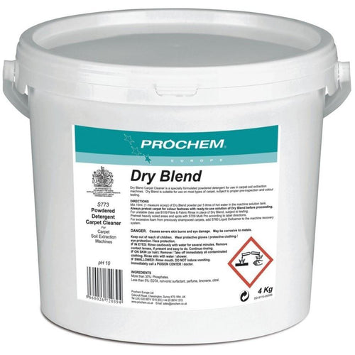 Prochem Dry Blend - Commercial Extraction Detergent For Synthetic Carpets -  Chemical - Prochem