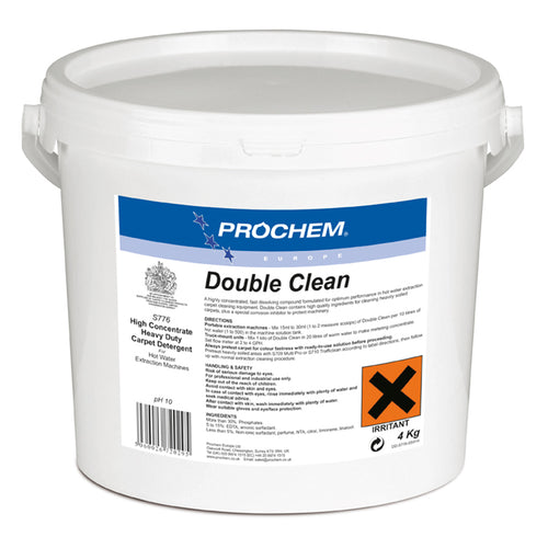 Prochem Double Clean - Concentrated Heavy-duty Extraction Detergent -  Chemical - Prochem