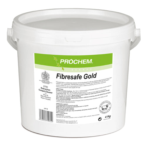 Prochem Fibresafe Gold - Safe Powdered Extraction Detergent For Wool -  Chemical - Prochem