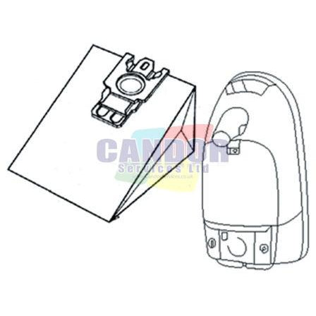 Miele S400 Series Replacement Vacuum Cleaner Bags
