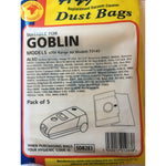 Goblin Iota Replacement Vacuum Cleaner Bags -  Dustbags - Candor Services