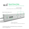 Ener-J WiFi Smart Power Strip Extension With USB Sockets -  Smart Power Strip - Ener-J