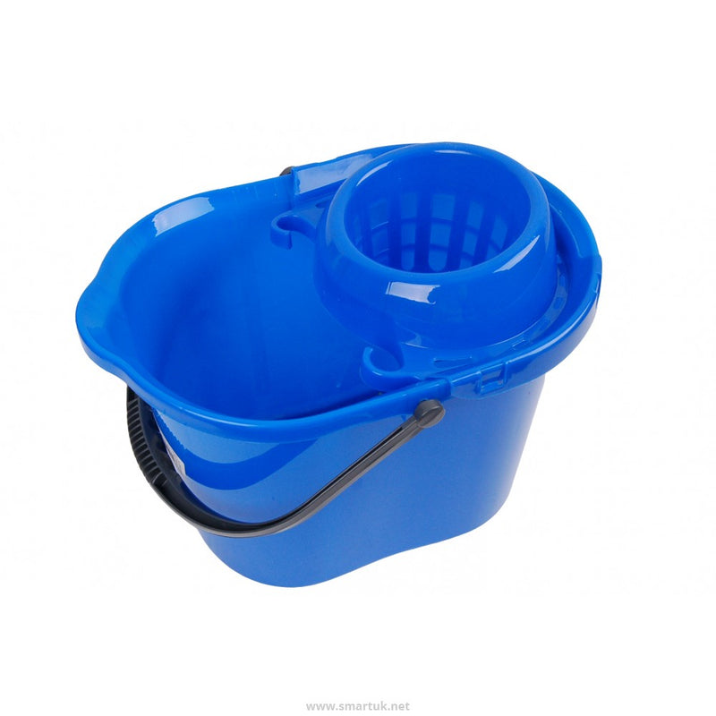 12 Litre Contract Mop Bucket and Wringer