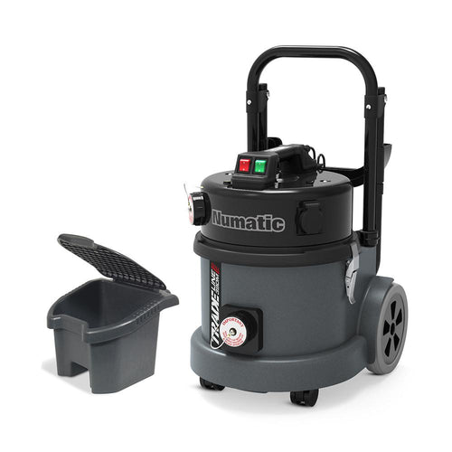 Numatic TEM390A 240v TradeLine Vacuum Cleaner With M Class Filtration, Power Take Off And Storage Caddy