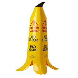 Wet Floor Warning Sign Innovative Banana Cone - 60cm -  Safety Sign - Ivo