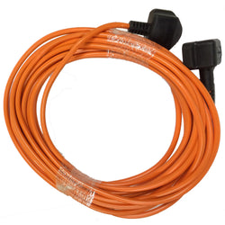 Numatic Nu Plug 2 Core High Visibility Replacement Cable by Candor -  Vacuum Cleaner Cable - Candor Services