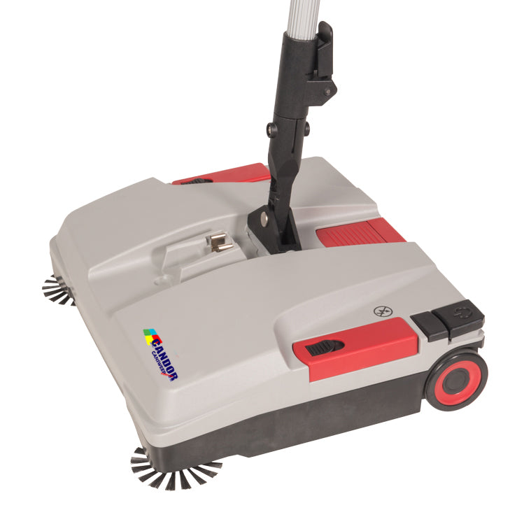 Candor Cansweep Cordless - Industrial Battery Sweeper For All Floor Types
