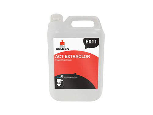 Selden ACT Extraclor Fragranced Thick Bleach - 5 litres
