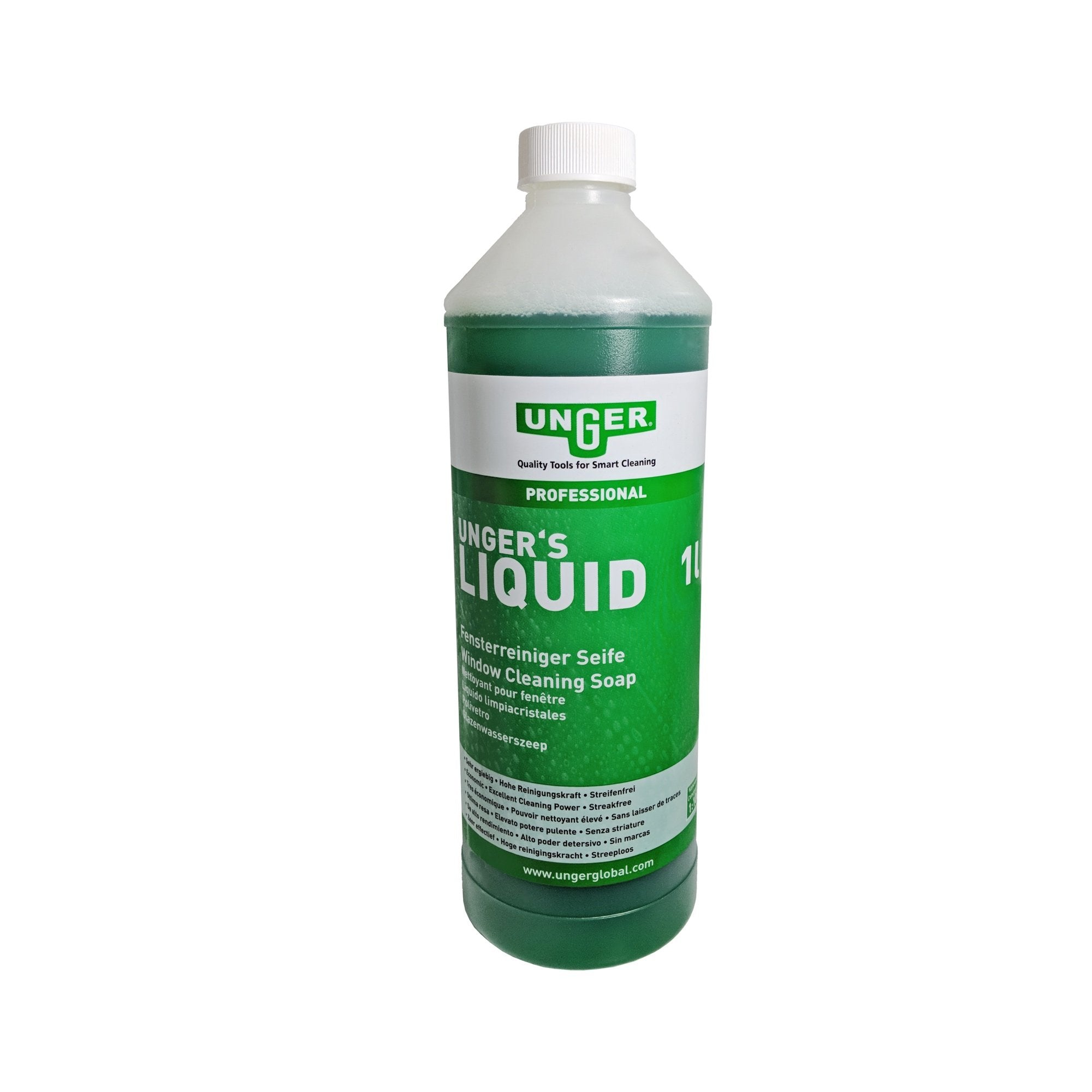 Unger Window Cleaning Liquid 1 Ltr -  Window Cleaning Chemical - Unger