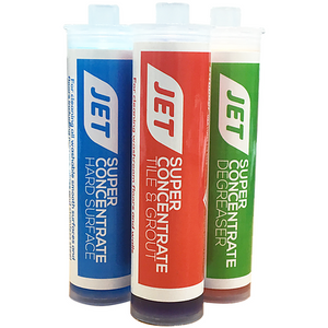 MotorScrubber Jet tile and grout super concentrate cartridges - Pack of 24