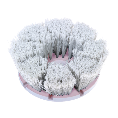 MotorScrubber flagged tipped long bristle delicate brush -  Portable Scrubber Brush - Motorscrubber