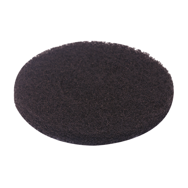 MotorScrubber black stripping pads - Pack of 5
